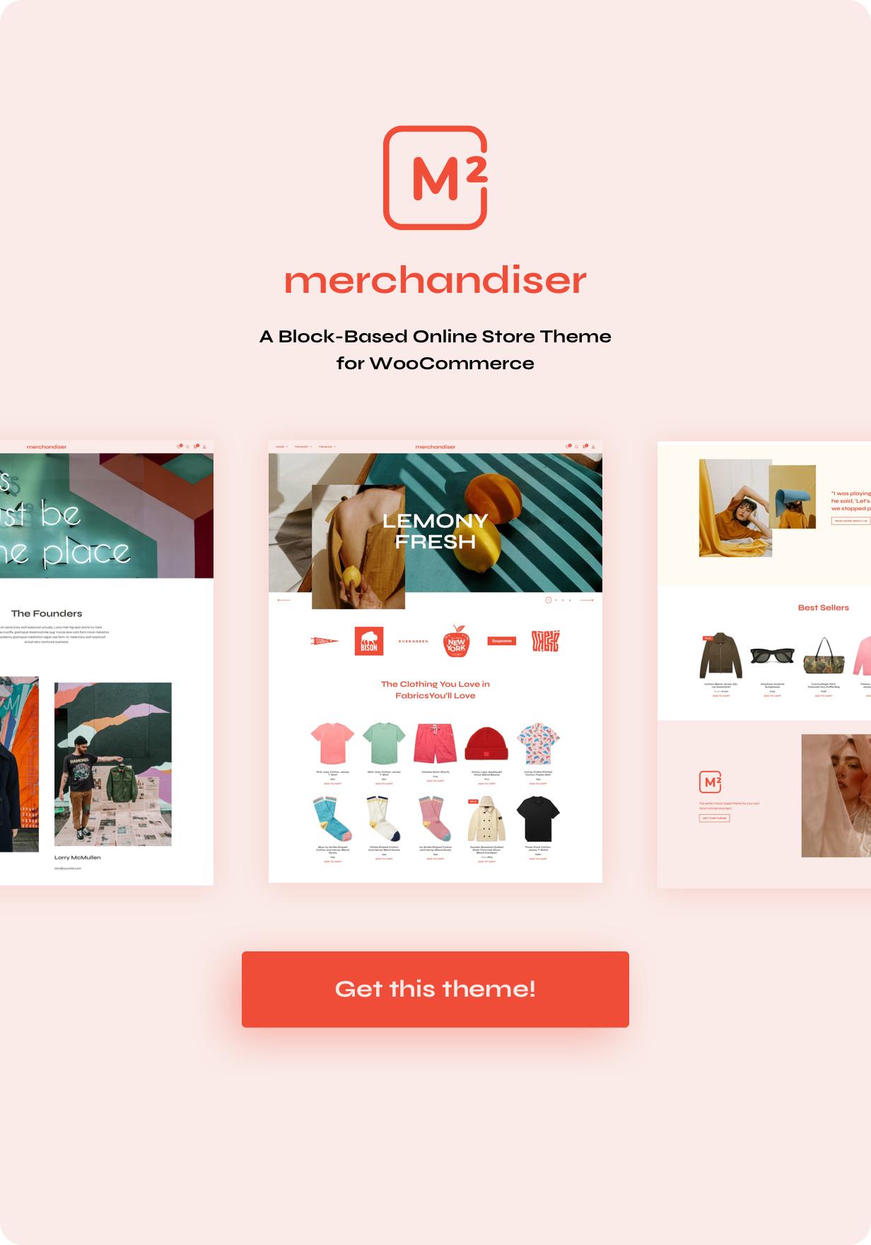 Merchandiser – eCommerce WordPress Theme for WooCommerce, Gobase64