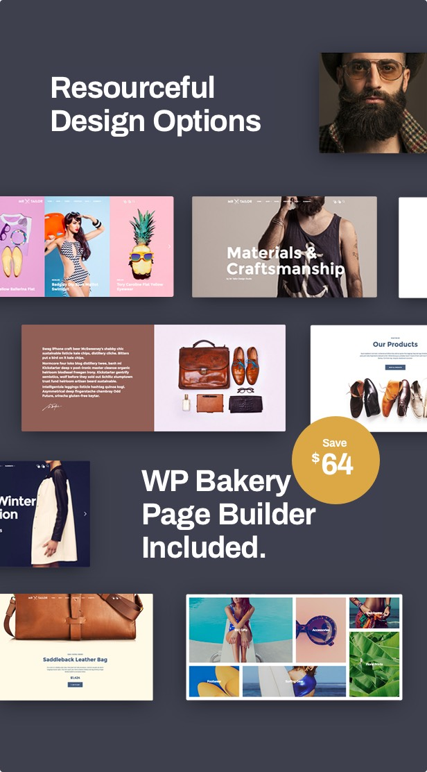 Mr. Tailor - Fashion and Clothing Online Store Theme for WooCommerce - 7