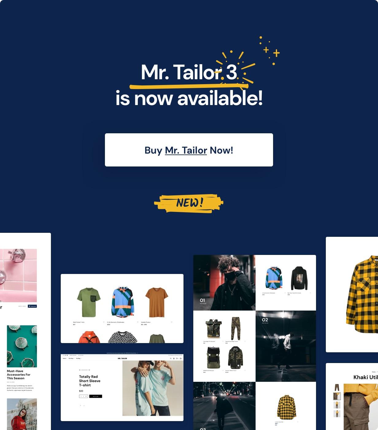 Mr. Tailor - eCommerce WordPress Theme for WooCommerce - 6