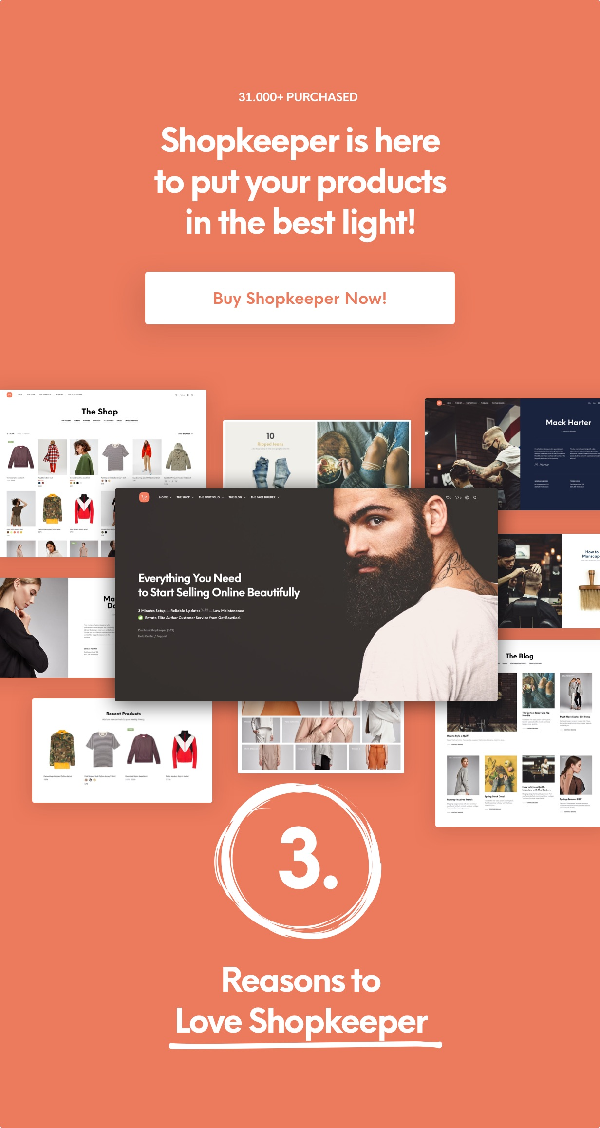 Shopkeeper - eCommerce WP Theme for WooCommerce - 2