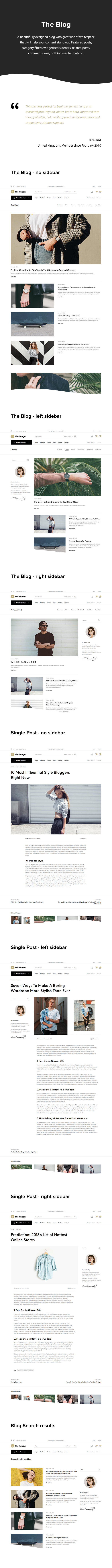 The Hanger - Modern Classic WooCommerce Theme - 6