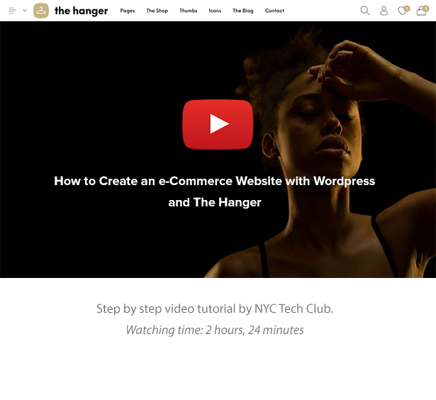 The Hanger - Modern Classic WooCommerce Theme - 15