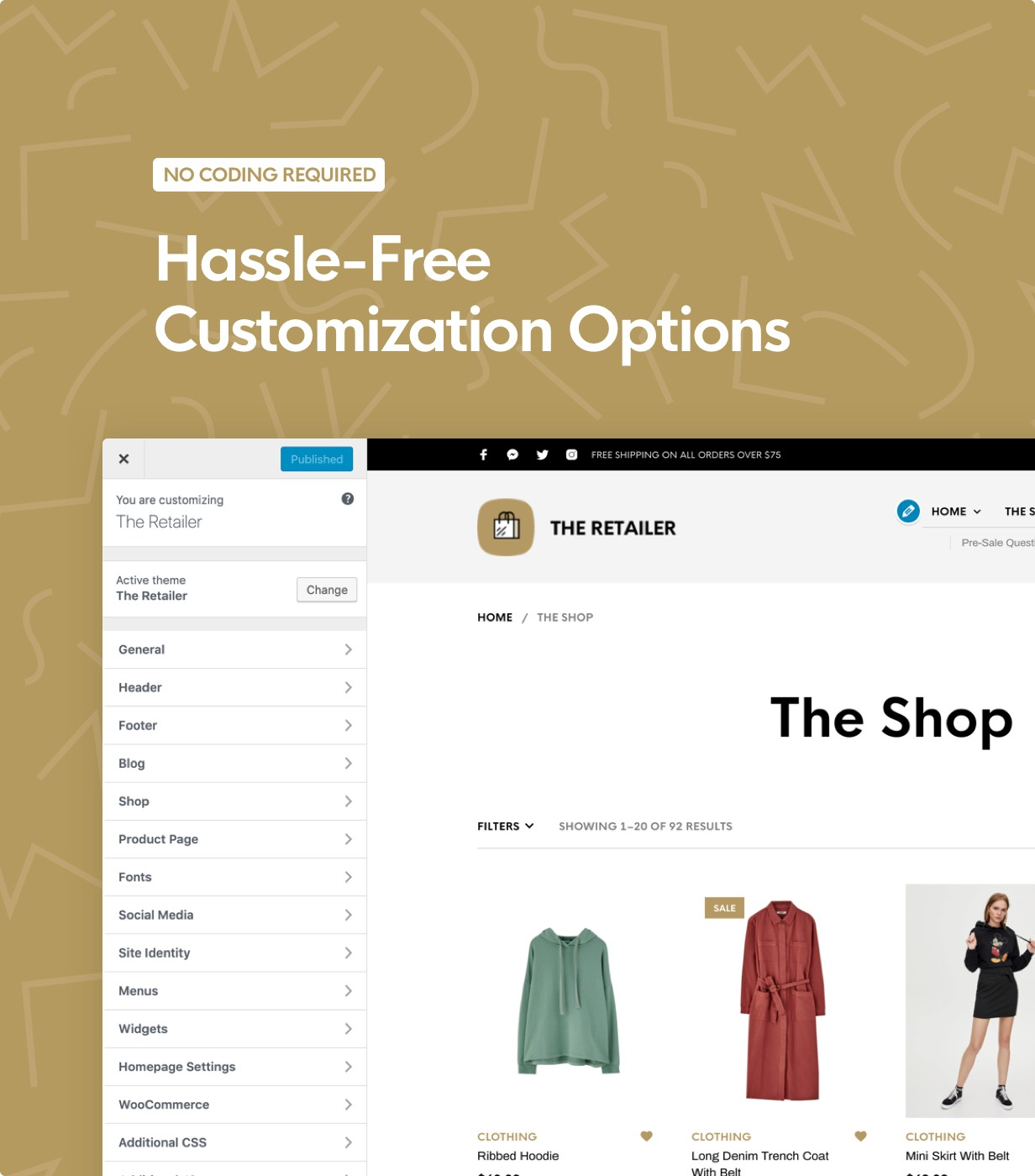 The Retailer - eCommerce WordPress Theme for WooCommerce - 20